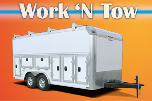 Work N Tow Commercial Cargo Trailers